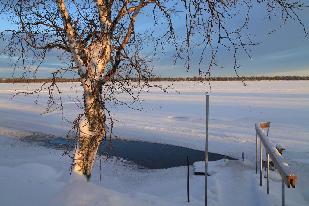 Finnland-Foto-Eislochbaden